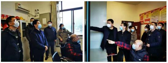 市委督查室主任邓远雄一行到我院看望慰问孤残儿童